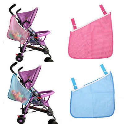 Baby Pram Stroller Puschair Buggy Universal Hanging Side Net Mesh Storage Bag