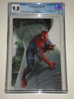 Amazing Spider-Man 800 (2018) CGC 9.8 Dell'Otto Virgin Variant Cover F