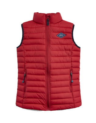 Joules Bambini Crofton Zainetto Gilet - Rosso