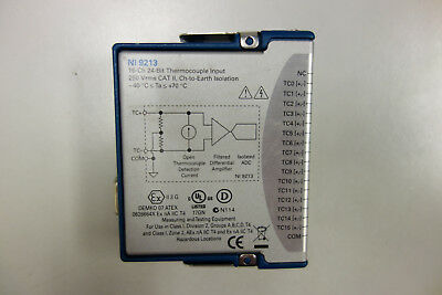 National Instruments NI-9213 Temperature Thermocouple Input Module