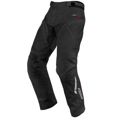 Alpinestars Andes Drystar Textile Waterproof Motorcycle Pants - Black