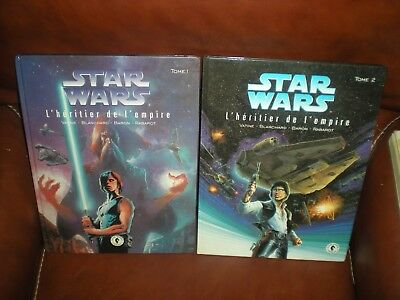 Star Wars L'heritier De L'empire Lot Des 2 Premiers Tomes En Eo Dark Horse 1995