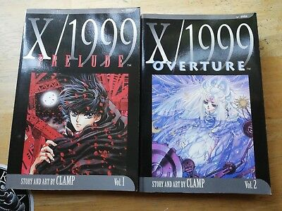 X/1999 Manga By CLAMP Vol 1 & 2 In English Prelude And Overture