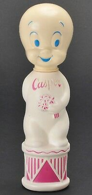 Casper The Friendly Ghost Vtg Soaky Empty Bubble Bath Container