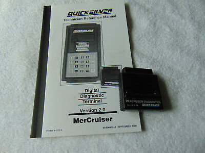 MERCURY DDT MARINE SYSTEM DIAGNOSTIC CARTRIDGE VERSION 2.0 CARTRIDGE Mercruiser