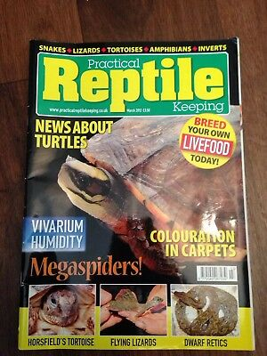 Practical Reptile Keeping Magazine - March 2012 - News About Turtles