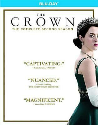 The Crown: the Complete Second Season - Blu-Ray Region 1 Free Shipping!