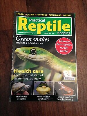 Practical Reptile Keeping Magazine - Dec 2010 - Green Snakes