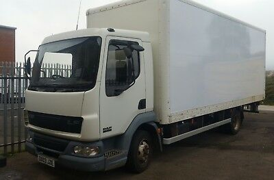 Daf Lf45 7.5T Removal Lorry. 11 Months M.o.t