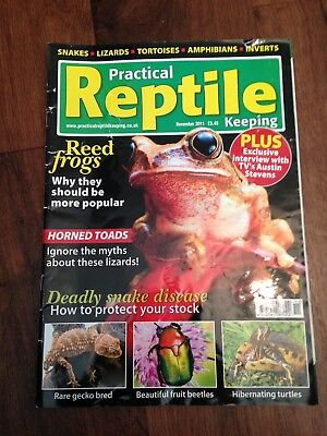 Practical Reptile Keeping Magazine - Nov 2011 - Reed Frogs