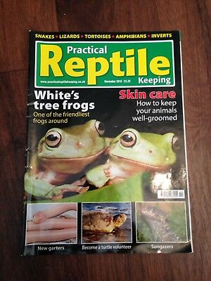 Practical Reptile Keeping Magazine - Nov 2010 - Whites Tree Frogs