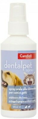 Candioli Dentalpet Spray orale da 125 ml per cane e gatto