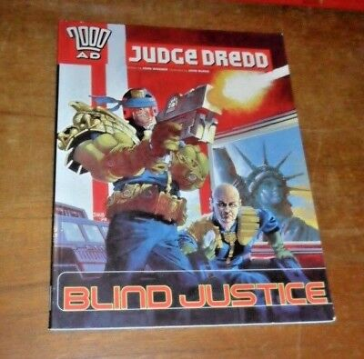 Judge Dredd: Blind Justice Paperback Graphic Novel