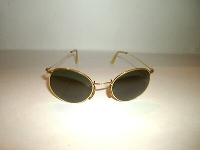 Vintage Bausch & Lomb Ray-ban Round Lennon G-15 Sunglasses W1573