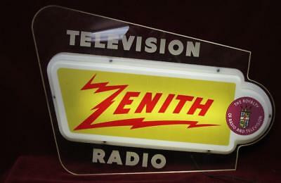 Zenith Lighted Sign
