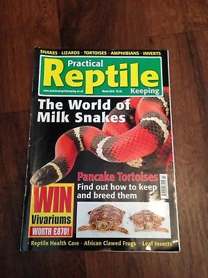 Practical Reptile Keeping Magazine - March 2010 - The World of Milk Snakes
