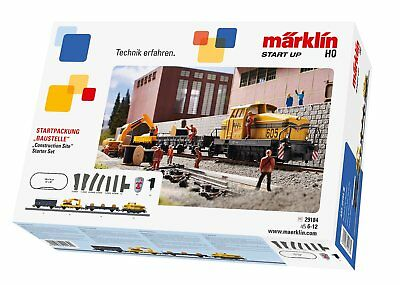 Märklin 29184 Start up - Startpackung Baustelle digital C-Gleis in H0 Fabrikneu