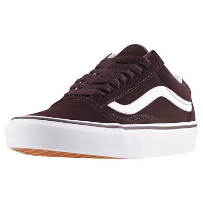 Vans Old Skool Damen Chocolate Wildleder Sneaker