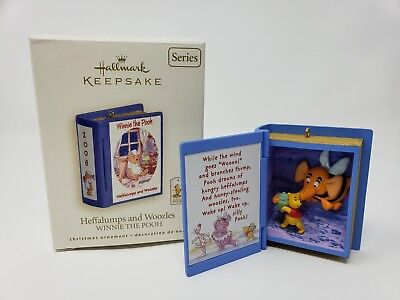 Hallmark 2008 Heffalumps and Woozles Winnie The Pooh Series Ornament 1203