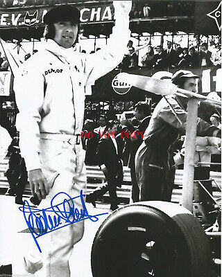 JACKIE STEWART FORMULA 1 RACING LEGEND Signed 8x10 Autographed Photo Reprint