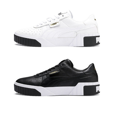 Puma Sneakers Cali donna Binaco nero stringata bassa limited stile casual retrò