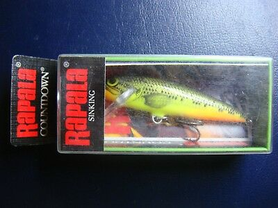 MADE IN IRELAND RAPALA COUNTDOWN HCD 5 HESH NOT AVAILABLE OLD STOCK RARE