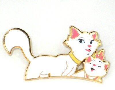RARE LE 200 Disney Pin✿ Aristocats Cat Marie Mom Duchess White Cute Kitten Acme