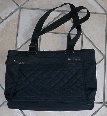 Hedgren Diamond Touch Black Stella Tote Bag