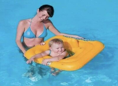 """Bestway Swimming Seat Ring 27"""" Kids Inflatable Baby Swim Safe Support Step A"""