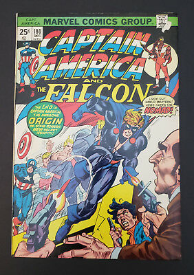 Captain America #180 (1974, Marvel) 1st Appearance of Nomad