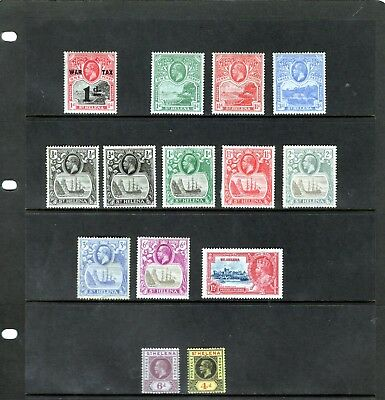 ST HELENA, small KGV collection , mainly MINT