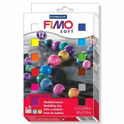 Staedtler - Fimo Soft Half Block Set 12 pieces