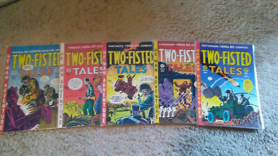 Two-Fisted Tales 2,3,4,5,6 Gladstone EC Comics