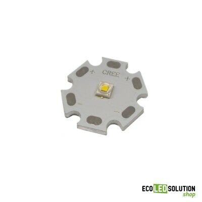 Led Cree XP-E2 4000°K Bianco Naturale Star Alluminio 20mm
