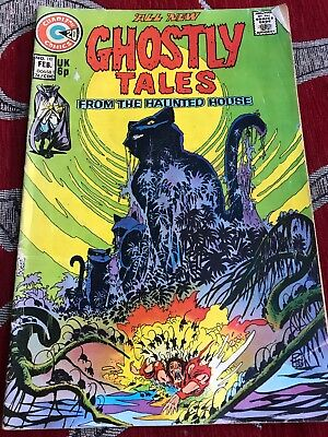 Charlton Comics All New Ghostly Tales from the Haunted House Comic #110 Feb 1974