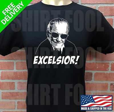 Stan Lee ***excelsior!*** T-Shirt, Spider-Man, Marvel Comics