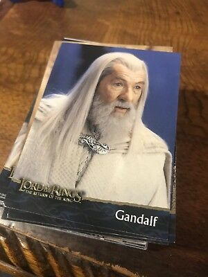 Topps Lord Of The Rings The Return Of The King Base Set 1-90