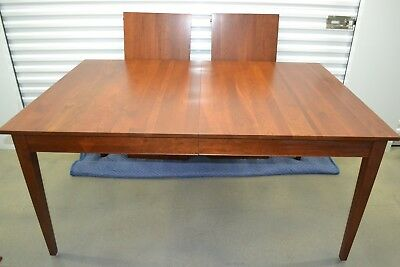 Ethan Allen American Impressions Dining Table, 2 Leaves Cherry #24-6404 #224