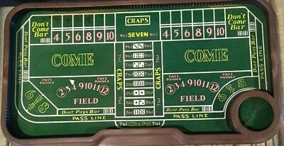 Automatic Dice Craps Table Game by Waco,Japan