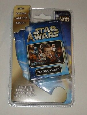 Star Wars Episode 2 Kartenspiel / Playing Cards originalverpackt