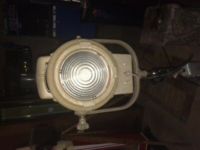 antique VariBeam spotlight stage studio  light model 7750 (2nd one free,READ)