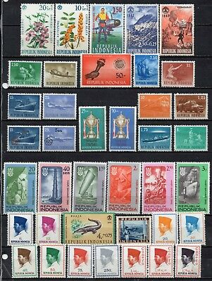 Indonesia very nice mixed collection ,stamps as per scan(5403)