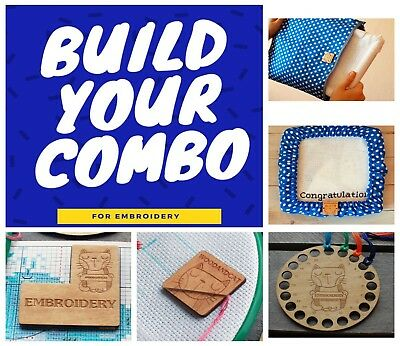 Build your COMBO Select items Project Bag Grime Guard Needle minder Floss keeper