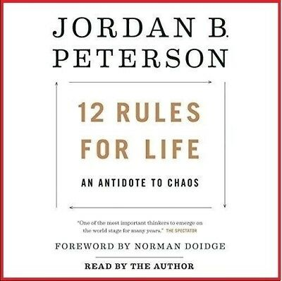 12 Rules for life An Antidote to Chaos By Jordan B. Peterson, (AUDIO BOOK)