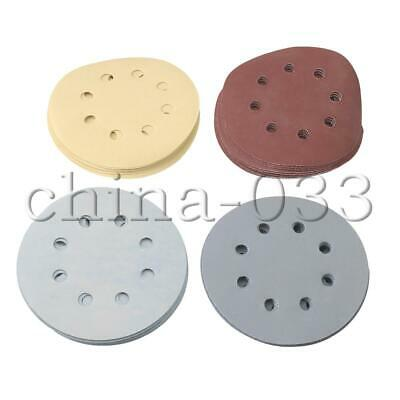 5 inch 1500 2000 3000 5000 7000 Grit Hook Loop Sanding Disc Sandpaper Set of 50