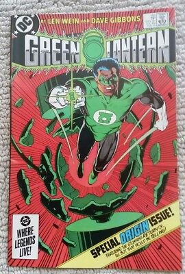 Green Lantern # 185 February 1985 Nm- Near Mint- 9.2 9.4 John Stewart