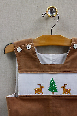 NEW Remember Nguyen Winter Woodlands Shortall 18 months Corduroy *LAST ONE*