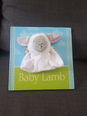 soft baby books- Baby Lamb (Puppet Book)