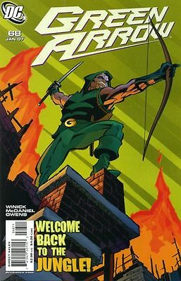Dc Green Arrow #68 Comic Cw Tv Show Speedy