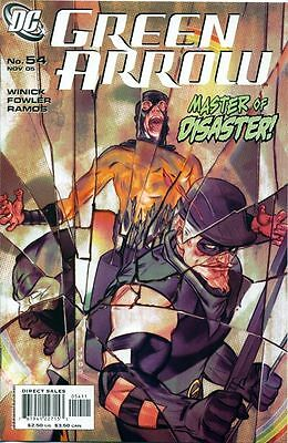 Dc Green Arrow #54 Comic Cw Tv Show Mirror Master